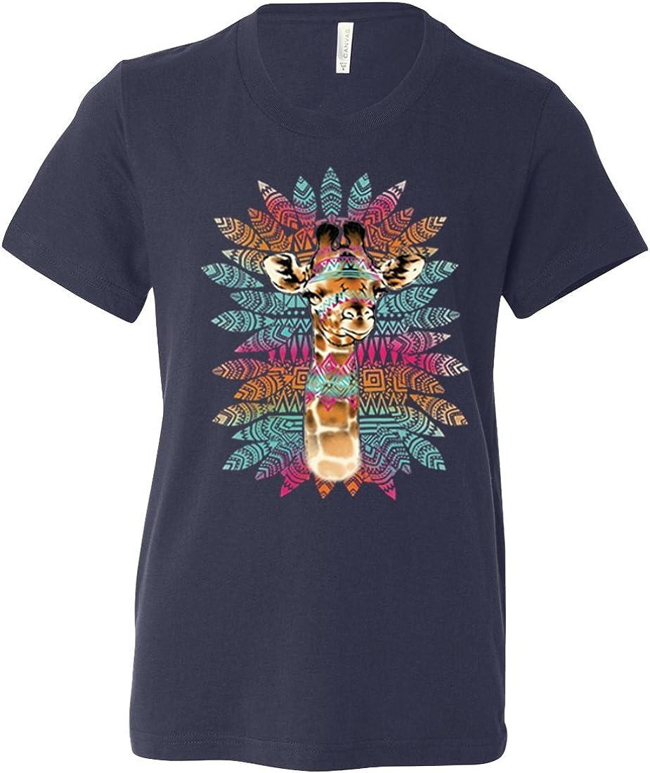 Tribal Giraffe Asst Colors Youth T-Shirt//tee