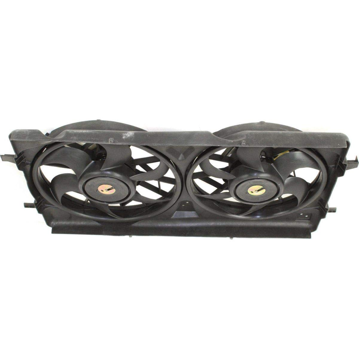 Radiator Cooling Fan For 05-10 Chevy Cobalt//04-07 Saturn Ion Dual Fan 2.0L Turbo