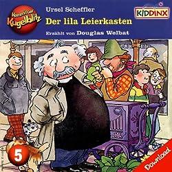 Der lila Leierkasten (Kommissar Kugelblitz 5)