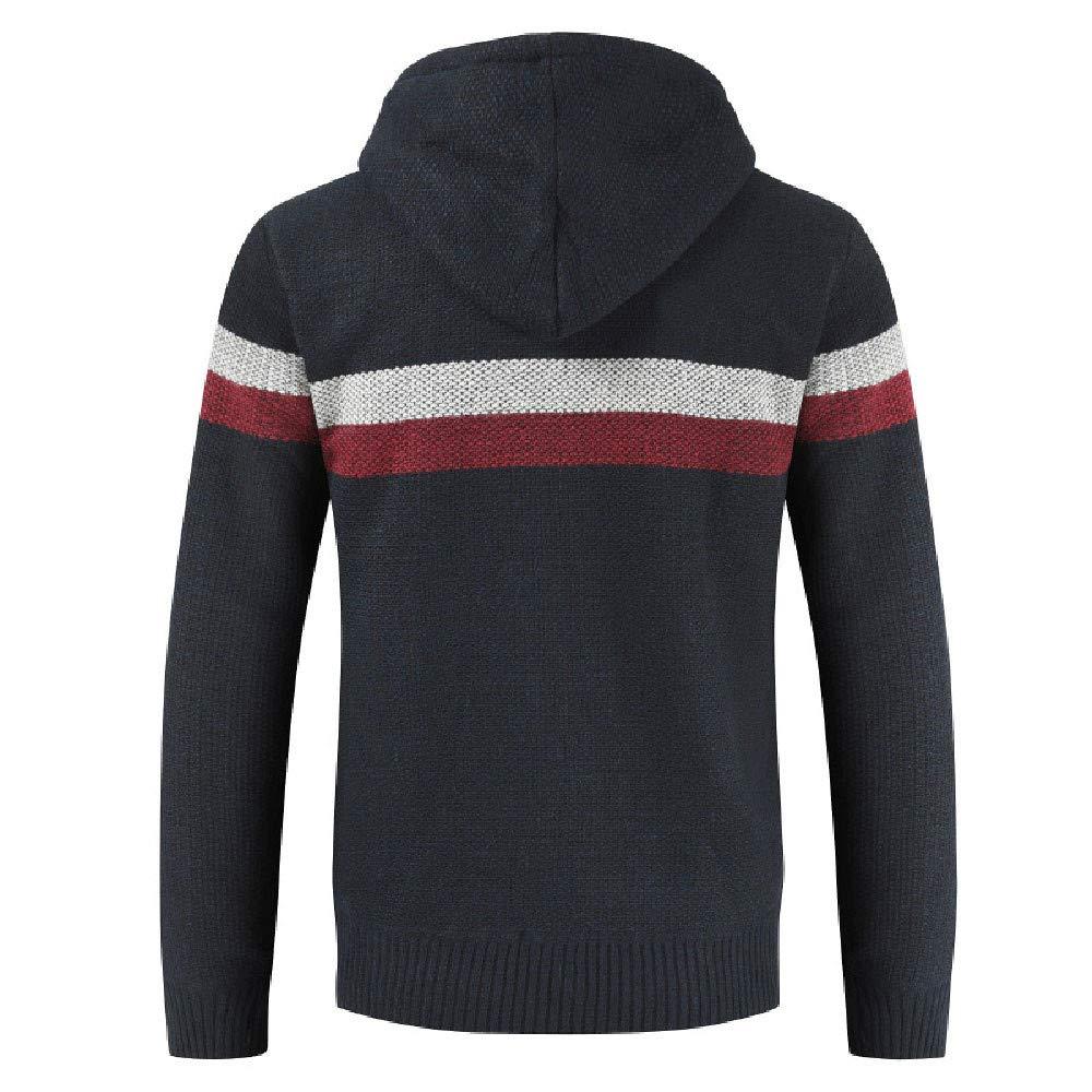 Cárdigan Básico para Hombre ZARLLE Suéter de hombre Otoño ...