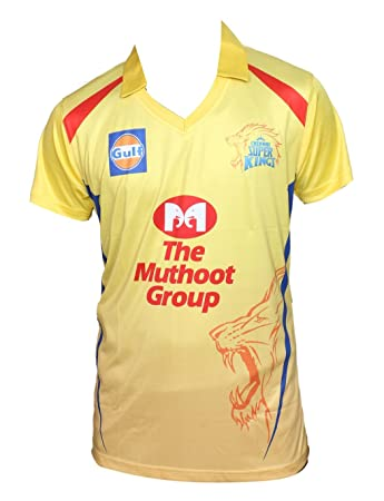 KD Cricket IPL Jersey Supporter Jersey T-Shirt 2018 MI, CSK, RCB and