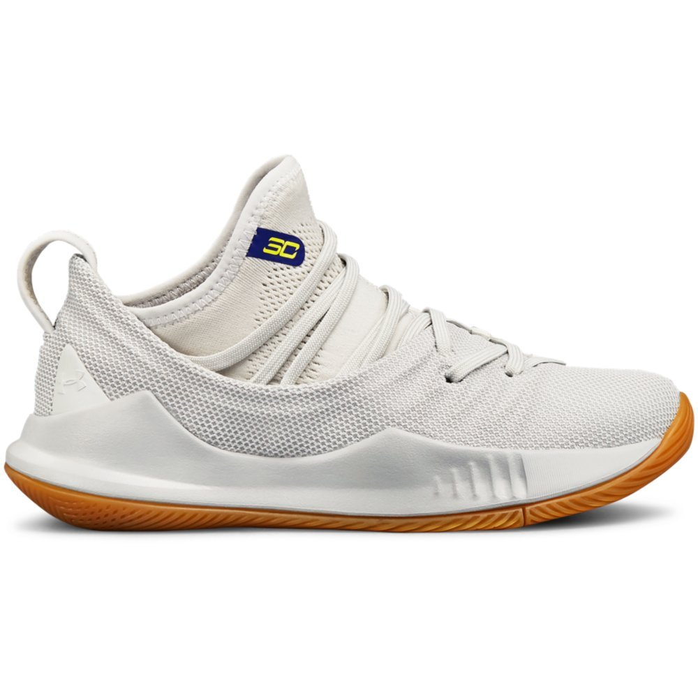 premium selection 84af9 54e68 Under Armour Boys' Grade School Curry 5 Basketball Shoe, Elemental  (105)/Overcast Gray, 6