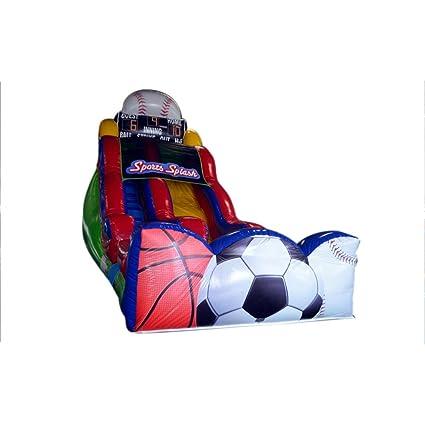 Sunjoy barato Deporte de la bola inflable de diapositivas en ...
