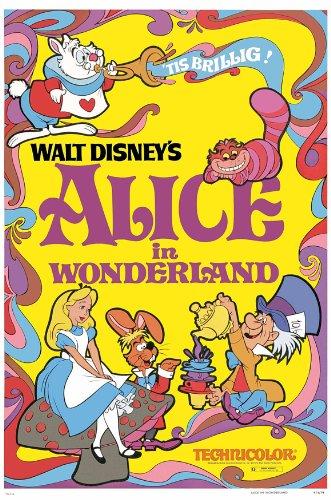 Alice in Wonderland Movie Poster (27 x 40 Inches - 69cm x 102cm) (1951) Style D -(Kathryn Beaumont)(Ed Wynn)(Richard Haydn)(Sterling Holloway)