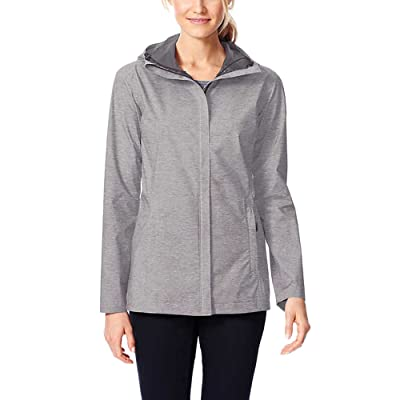 32 DEGREES Women's Rain Jacket Coat Weatherproof: Clothing