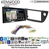 Volunteer Audio Kenwood DNX574S Double Din Radio Install Kit with GPS Navigation Apple CarPlay Android Auto Fits 2002-2006 Acura RSX