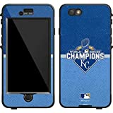 MLB Kansas City Royals Lifeproof Nuud iPhone 6 Skin - Kansas City Royals 2015 World Series Champions Vinyl Decal Skin For Your Lifeproof Nuud iPhone 6