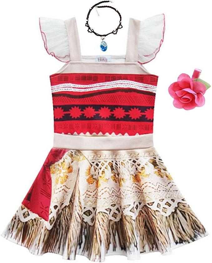 Amazon.com: Rainawby - Vestido de princesa para niñas ...