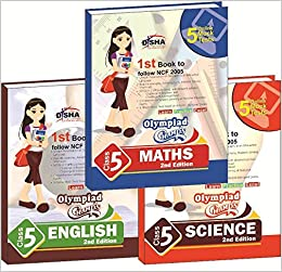 Olympiad Champs Science, Mathematics, English Class 5 with 15 Mock Online Olympiad Tests 2nd Edition (set of 3 books) (English) 2 Edition price comparison at Flipkart, Amazon, Crossword, Uread, Bookadda, Landmark, Homeshop18