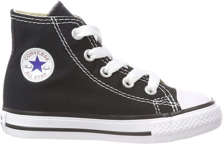 Converse C//T All Star Hi Little Kids Fashion Sneakers Black
