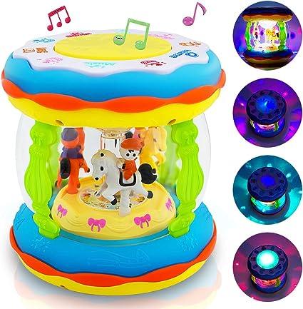 Amazon.com: Juguete musical para bebés y niños, multifunción ...