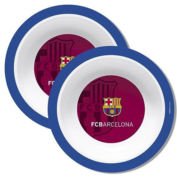 F.C. Barcelona Plato melamina 16 cm