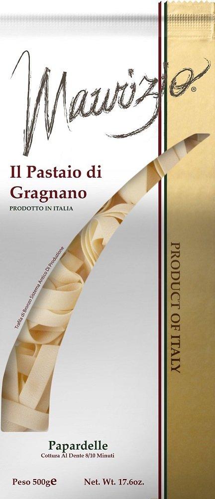 Maurizio - Italian Pappardelle Pasta, (4)- 17.6 oz. Pkgs.