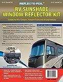 RV SUNSHADE WINDOW REFLECTOR KIT