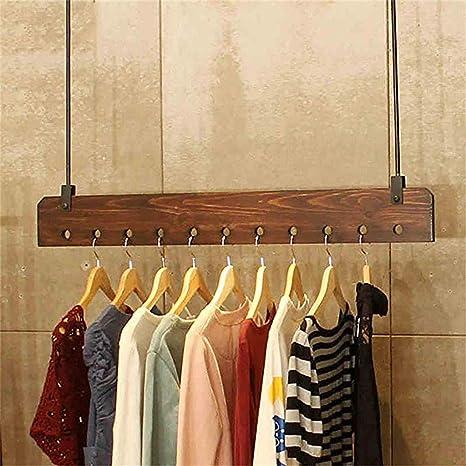 Amazon.com: Perchero de madera para colgar en la pared para ...