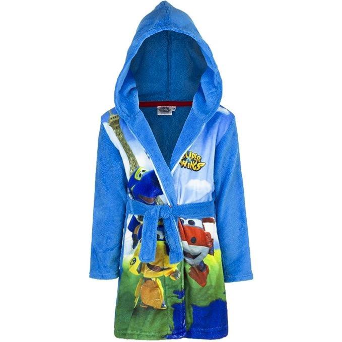 Amazon.com  Super Wings Kids Coral Fleece Bathrobe Night Gown  Clothing 268e200d8