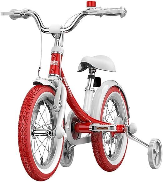 Llq2019 - Bicicleta Infantil para niña, de 3 a 6 años, de 14 ...