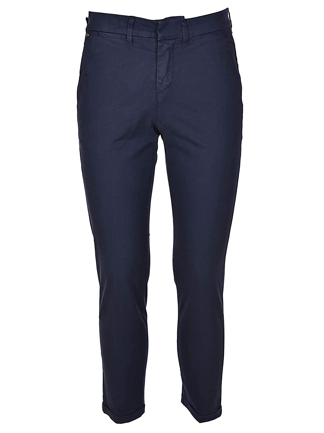 fay Mens NTM8636187TGURU801 Blue Cotton Pants