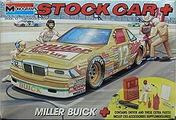 Amazoncom Monogram Kit Miller Buick Stock Car Scale - Buick stock