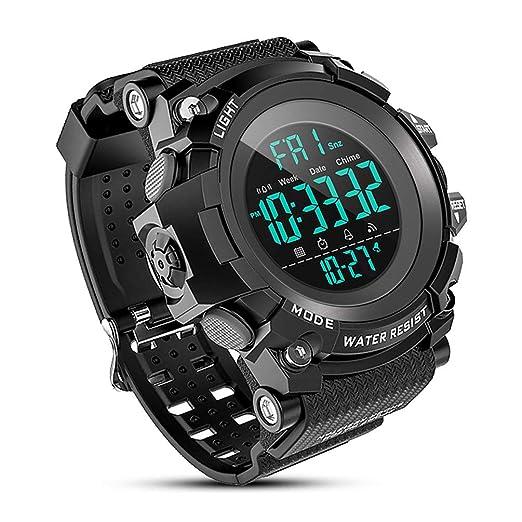 Men's Watches Quartz Watches 2019 Fashion Free Shipping 50m Waterproof Mens Watch Mens Sports Watch Mens Military Watch Large Multifunction Electronic Watch