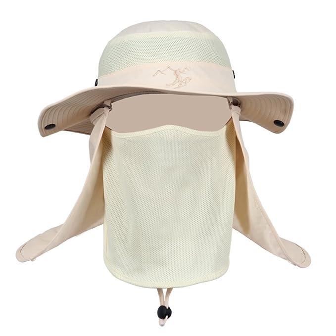 Gorra de pesca de verano Sombreros de protección de rayos UV al aire libre  verano 873db91831f