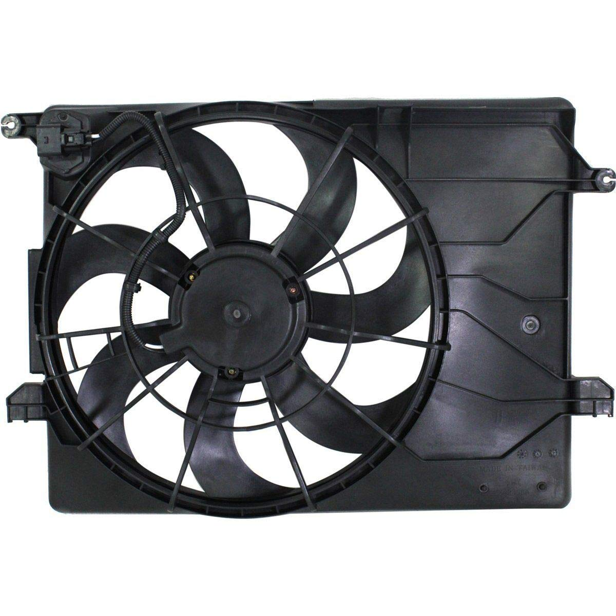 Radiator Cooling Fan For 2010-2013 Hyundai Tucson 2011-2013 Kia Sportage