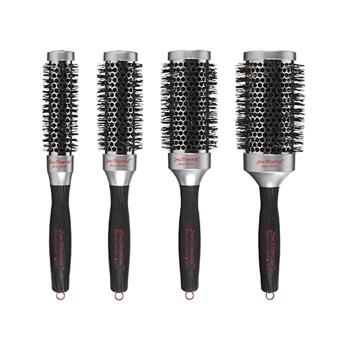 """Olivia Garden Pro Thermal Brush Box Deal (contains 1 each: T-25 1"""", T-33 1 1/4"""", T-43 1 3/4"""", T-53 2 1/4"""")"""