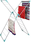 Peng Essentials Naples Steel Floor Cloth Drying Stand