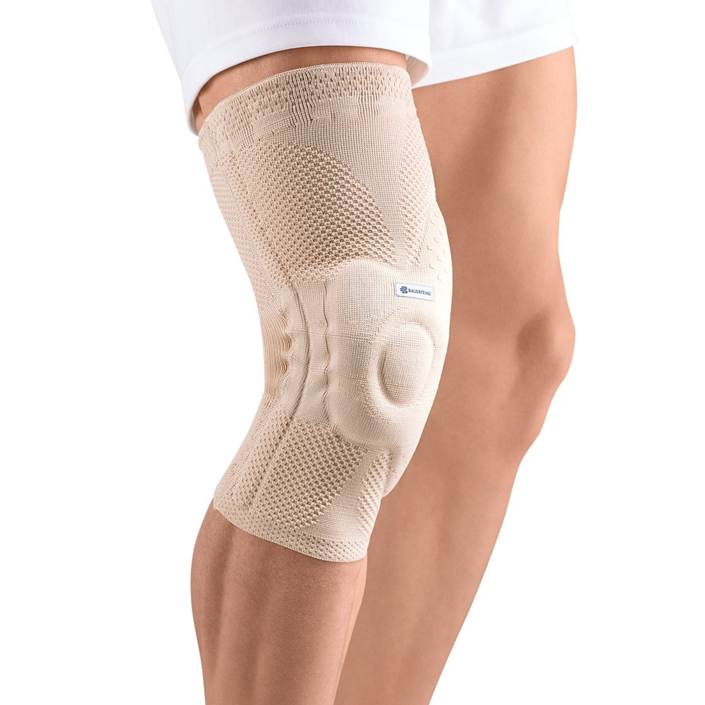 Bauerfeind GenuTrain Right A3 Knee Support (Nature, 4) by Bauerfeind