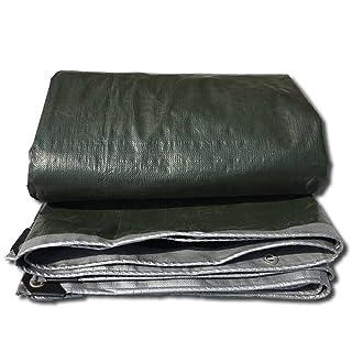 Telone GJM Shop Tende impermeabili PE 0,32 mm Copriscarpe spessi Tende Tende da campeggio- Perfette per backpacking, campeggio, riparo, ombra, copertura del terreno 180 g/m² -Multifunctional