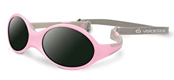 b1d37a21e5e957 Visiomed Baby Lunettes Solaires, Visioptica Kids Reverso One, Rose, 0 à 12  mois