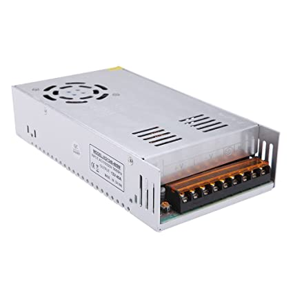 Docooler 12v 40a 480w dimmable led driver switch power supply led docooler 12v 40a 480w dimmable led driver switch power supply led strip lights dimming controller aloadofball Image collections