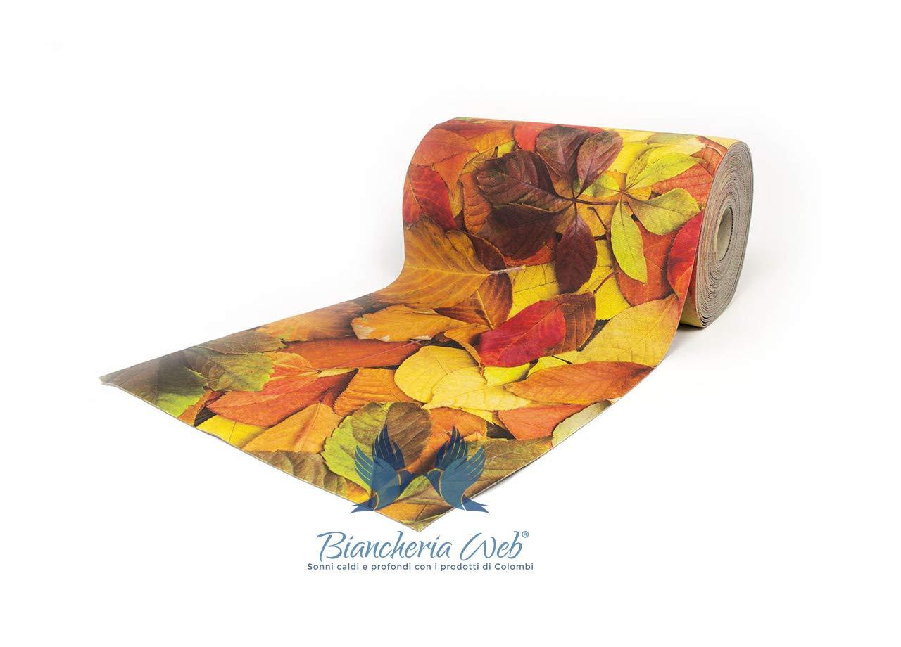 BIANCHERIAWEB Tappeto Passatoia Antiscivolo Disegno Colors 50x100 Colors COINGROSTEX