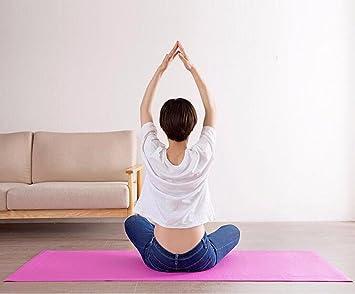 GTVERNH portátil extra largo de esterilla de yoga ...