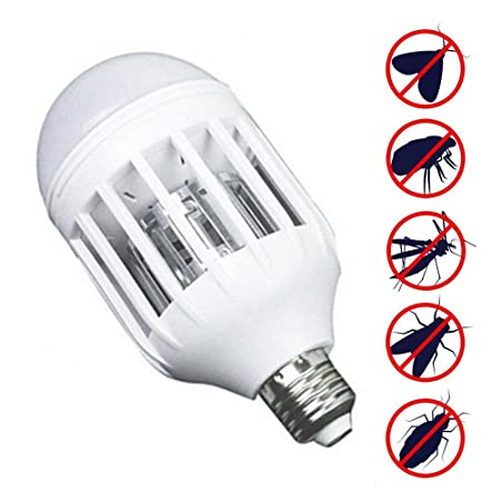 Bug Zapper Bulbs >> Kobwa Bug Zapper Led Light Bulb 2 In 1 Pest Repellent Mosquito