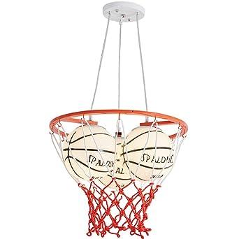 Sala de baloncesto Tipo niños creativos Led Lámpara Lámpara ...