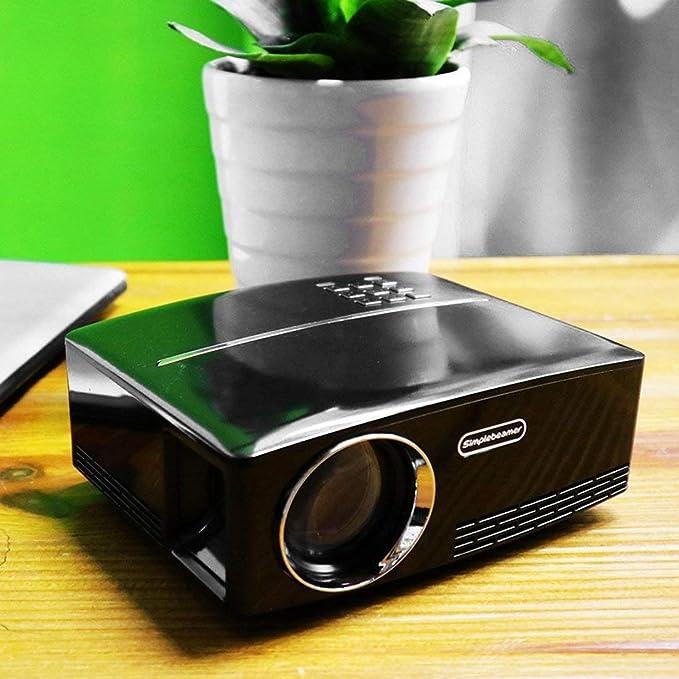 gp80 Mini 1080p Proyector portátil LED Proyector LCD VGA HDMI ...