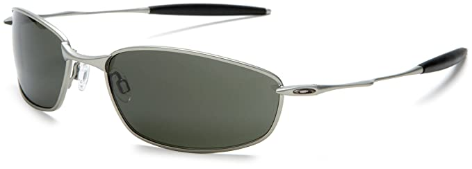 418a81738a Oakley Mens Whisker Silver Sunglasses With Dark Grey Lens (05-716)  Oakley   Amazon.co.uk  Clothing