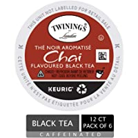 Twinings of London Chai Tea K-Cups for Keurig, 12 Count (Pack of 6)