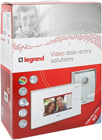 Legrand LEG369315 Ecran compl/émentaire tactile 7 pouces Noir