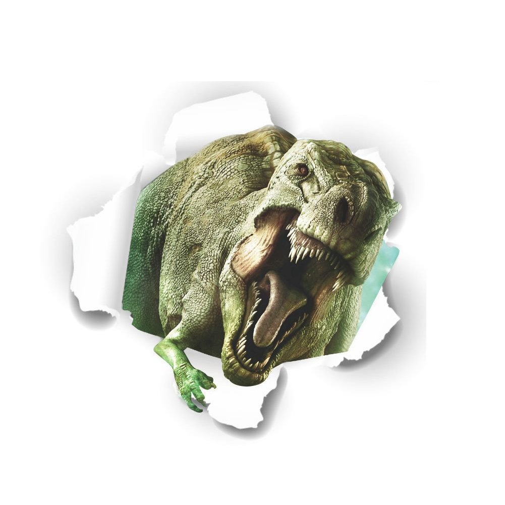 3PCS 3D Dinosaur Wall Stickers Kids Room Home Décor Wall Decals Polly Online Shop XL0113-Multi