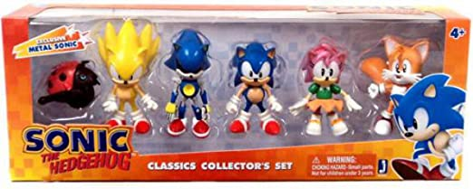 Sonic Exclusive 2 Inch MINI Figure 6-Pack CLASSIC