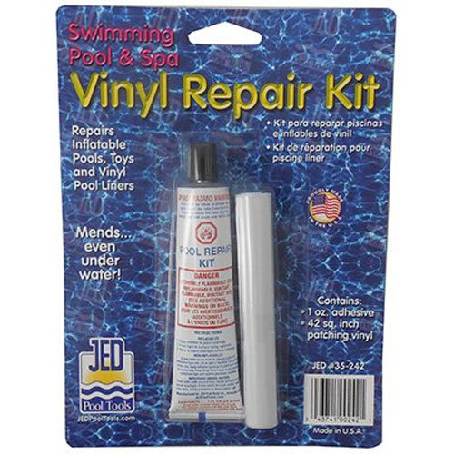 Jed Pool Tools Inc 35-242 Pool Liner Repair - Message Duty Vinyl Heavy