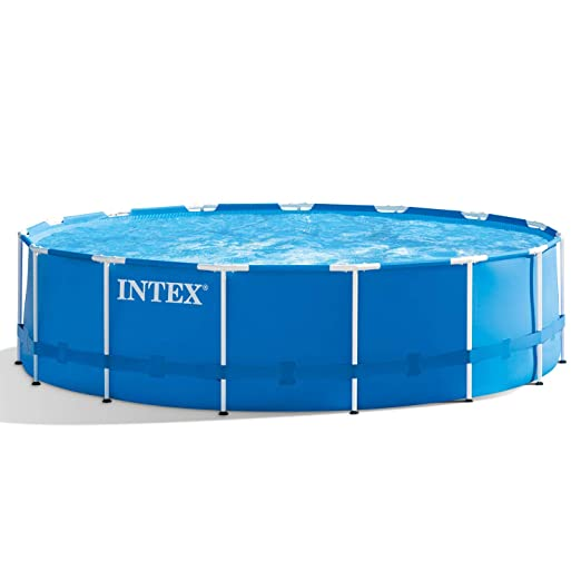 INTEX Premium de Pool 457 x 122 cm Piscina Marco de Metal: Amazon ...