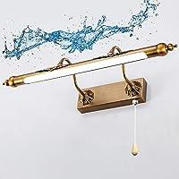 SFOXI Vintage LED metalen spiegellamp dimbaar spiegellamp wandlamp badkamer make-up spiegel licht waterdichte…