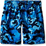 Kanu Surf Men's Barracuda Swim Trunks (Regular & Extended Sizes), Camo Navy, 2X