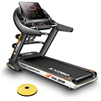 Kobo TM-308 3 H.P Auto Incline Motorized Treadmill Multi Function Massager with Full LED Screen (Free Installation Assistance)