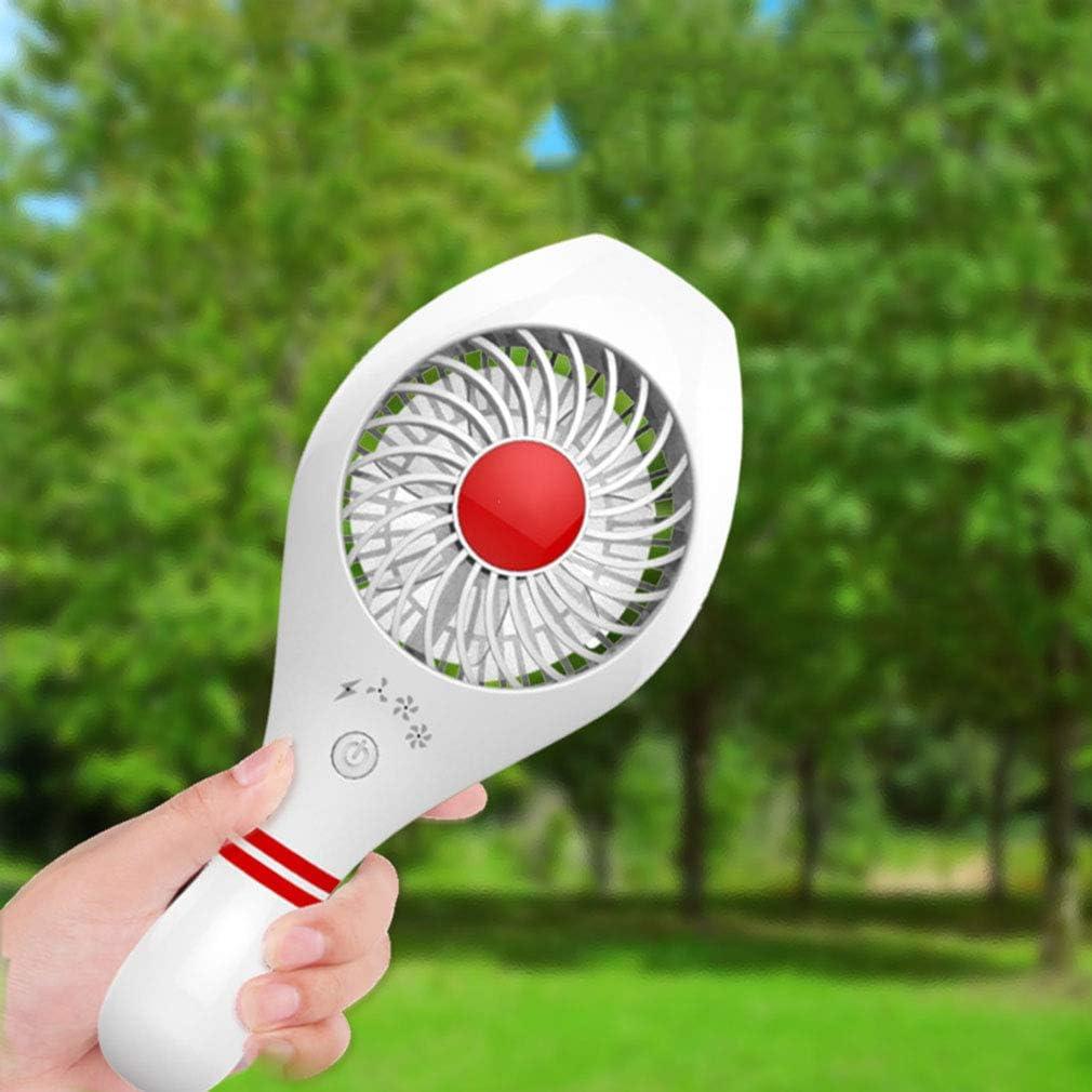 SXXDERTY Creative USB Mini Fan Handheld//Desk Portable Fan 3 Speeds Low Noise Bowling Shape Cooling Fan