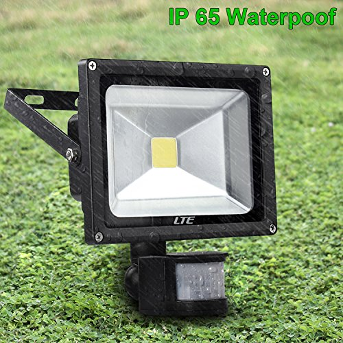 LTE 20W LED Motion Sensor Floodlight Outdoor Plug In