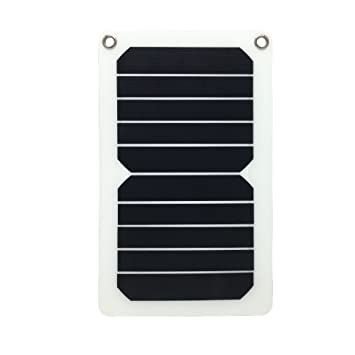 Amazon.com: Flextech Cargador Solar Impermeable Potente 5,3 ...